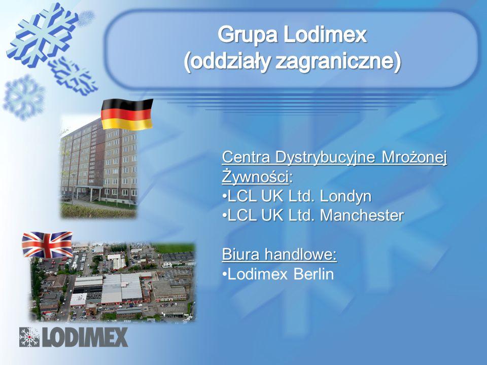 Grupa Lodimex (oddziały zagraniczne)