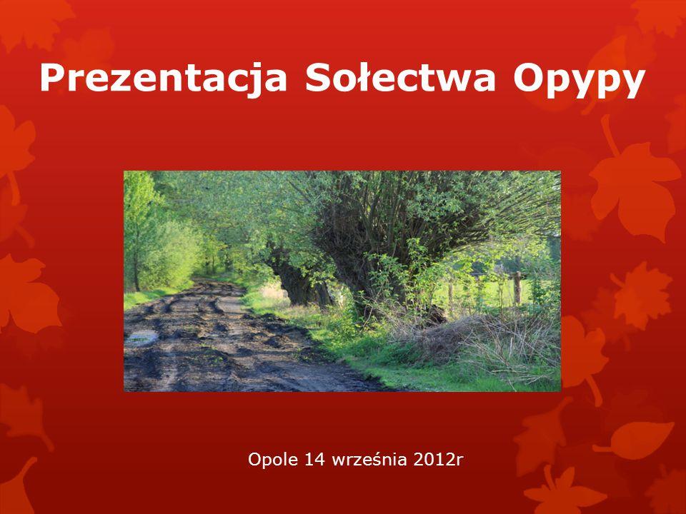 Prezentacja Sołectwa Opypy