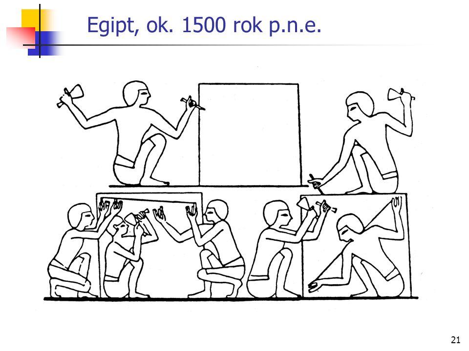 Egipt, ok. 1500 rok p.n.e.