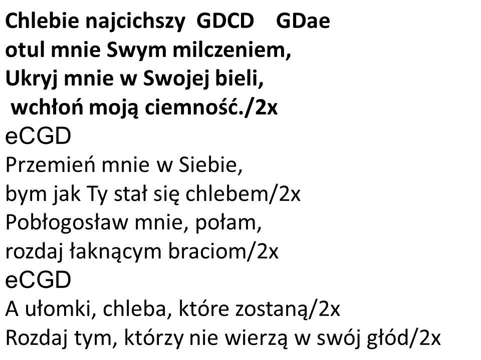 Chlebie najcichszy GDCD GDae