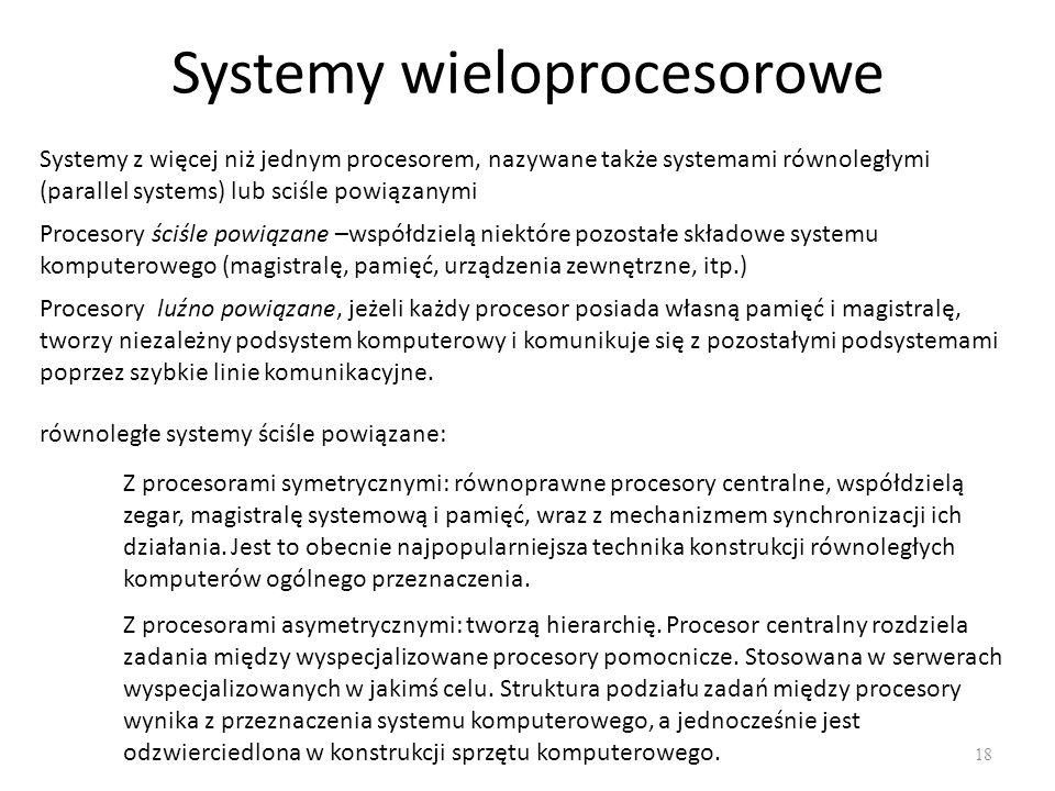 Systemy wieloprocesorowe
