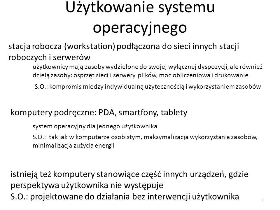 Użytkowanie systemu operacyjnego
