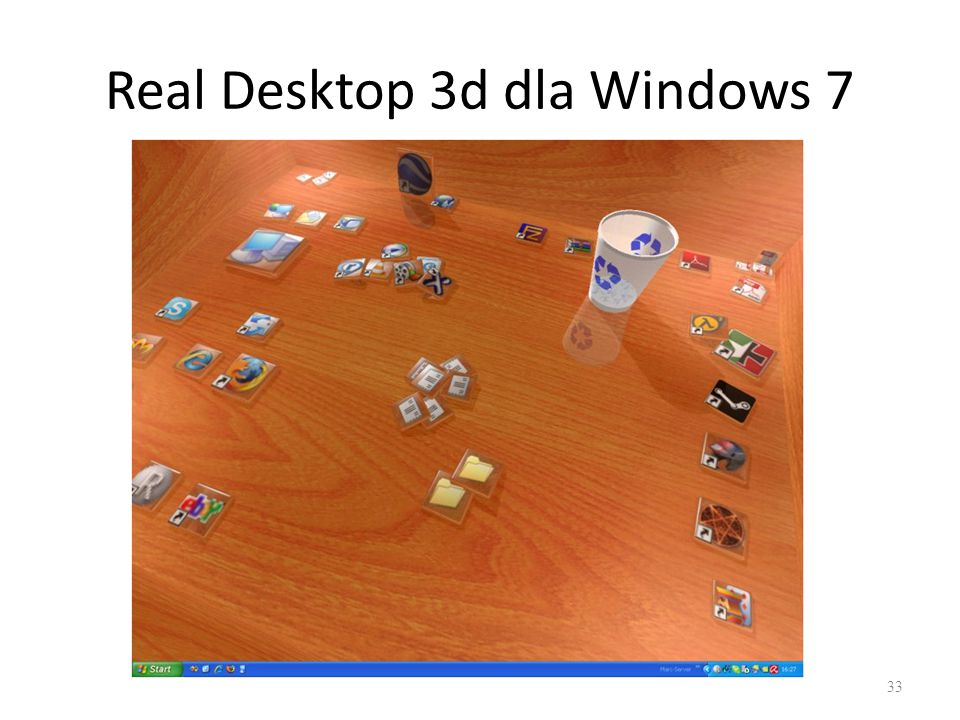 Real Desktop 3d dla Windows 7