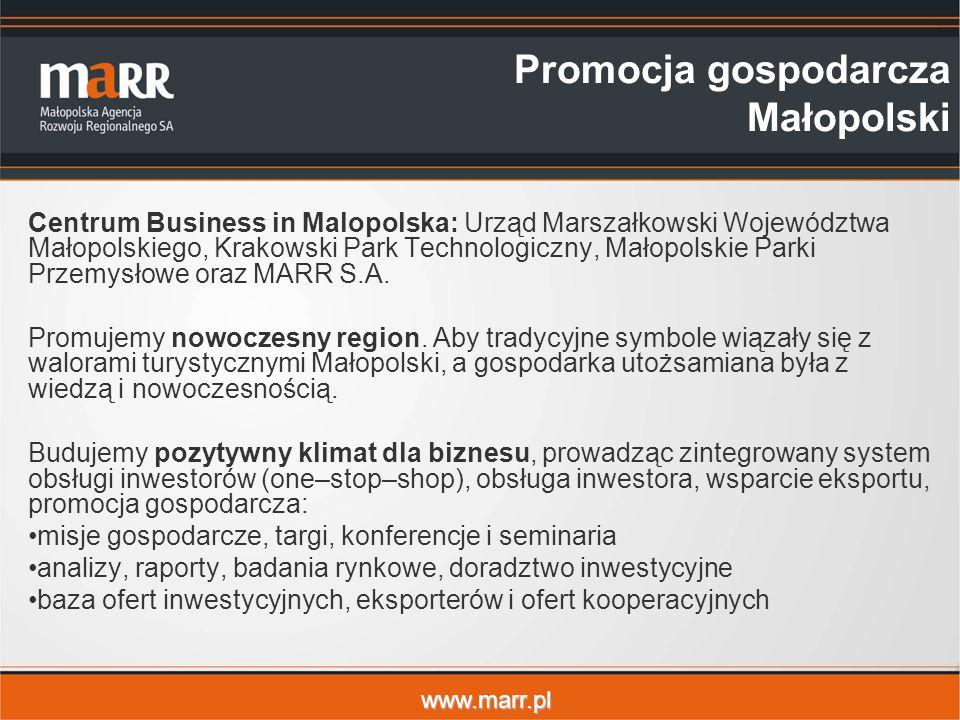 Promocja gospodarcza Małopolski