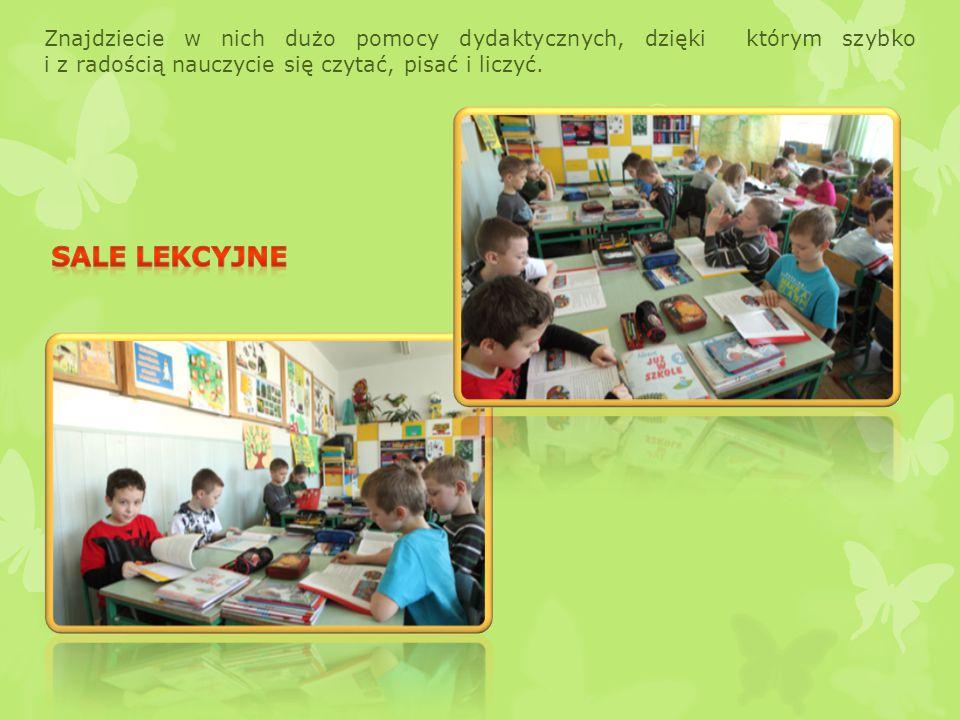 Znajdziecie w nich dużo pomocy dydaktycznych, dzięki którym szybko i z radością nauczycie się czytać, pisać i liczyć.