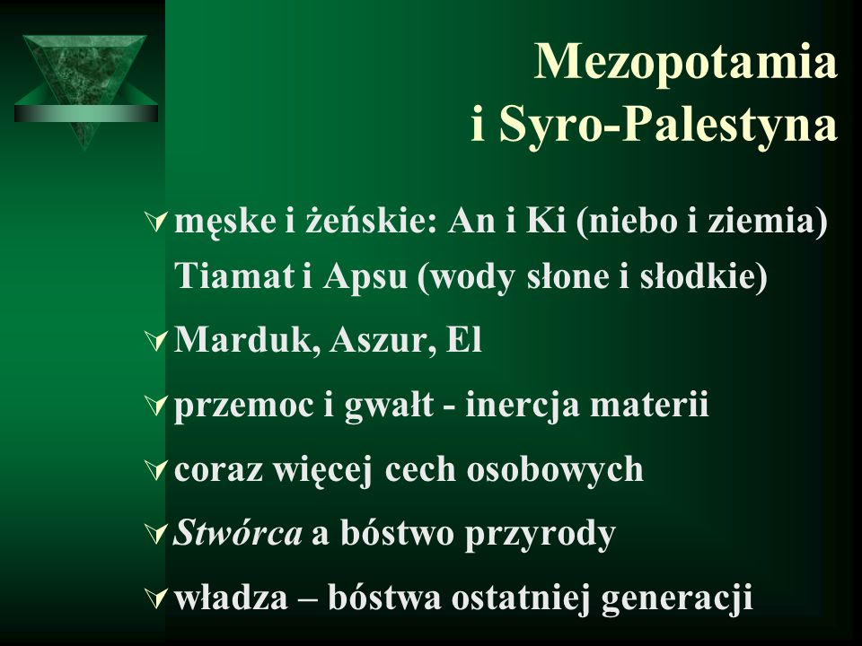 Mezopotamia i Syro-Palestyna