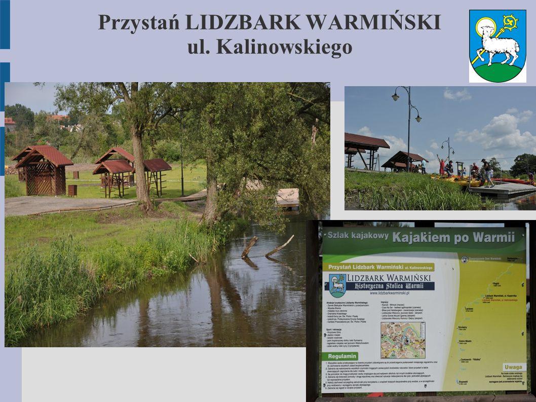 Przystań LIDZBARK WARMIŃSKI ul. Kalinowskiego