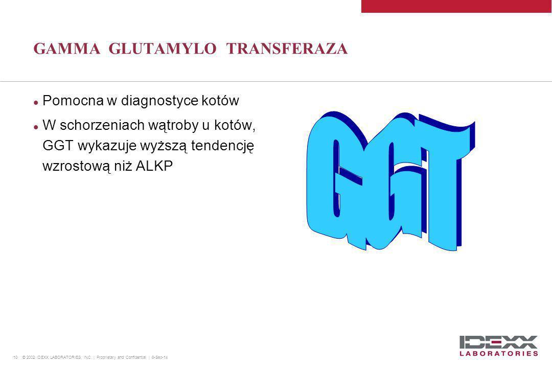 GAMMA GLUTAMYLO TRANSFERAZA