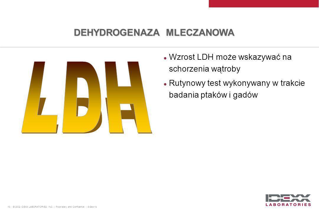 LDH DEHYDROGENAZA MLECZANOWA