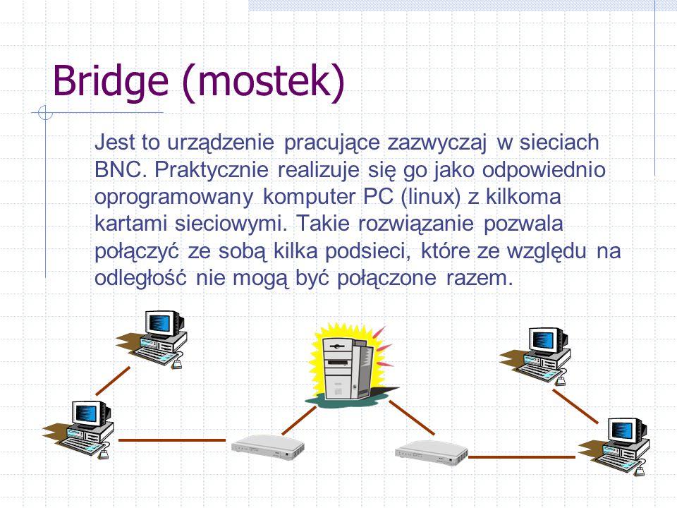 Bridge (mostek)
