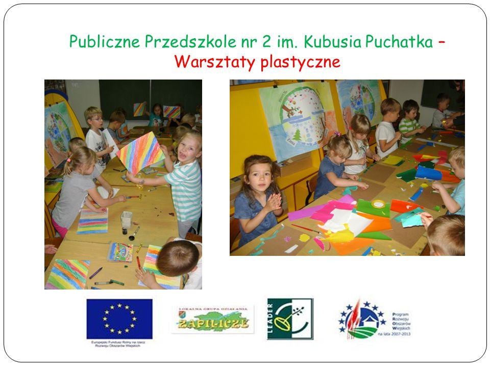 Publiczne Przedszkole nr 2 im. Kubusia Puchatka – Warsztaty plastyczne