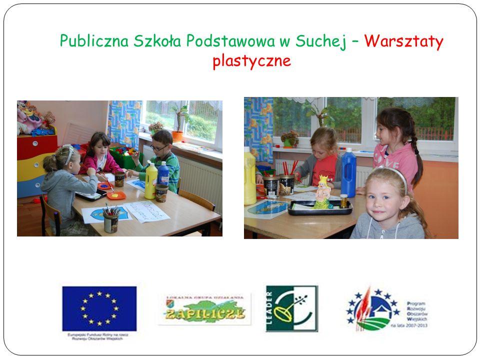Publiczna Szkoła Podstawowa w Suchej – Warsztaty plastyczne