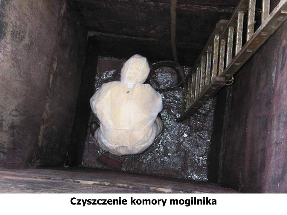 Czyszczenie komory mogilnika