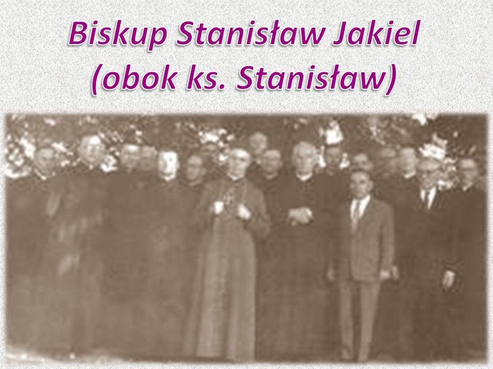 Biskup Stanisław Jakiel (obok ks. Stanisław)