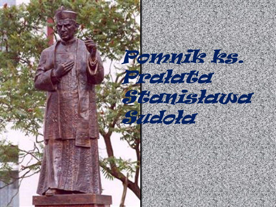 Pomnik ks. Prałata Stanisława Sudoła