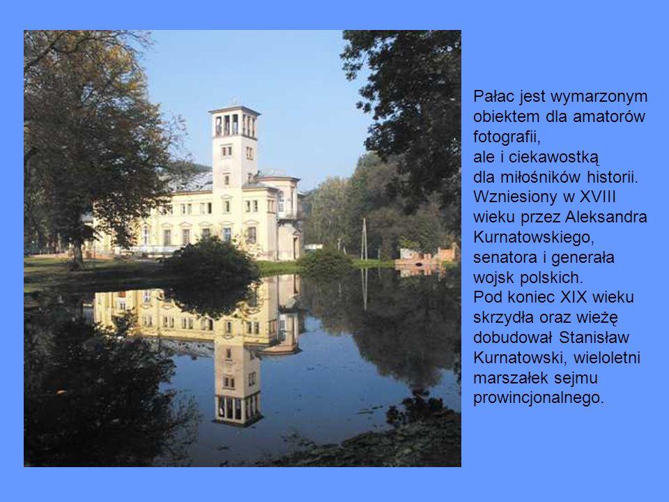Pałac jest wymarzonym obiektem dla amatorów fotografii, ale i ciekawostką dla miłośników historii.