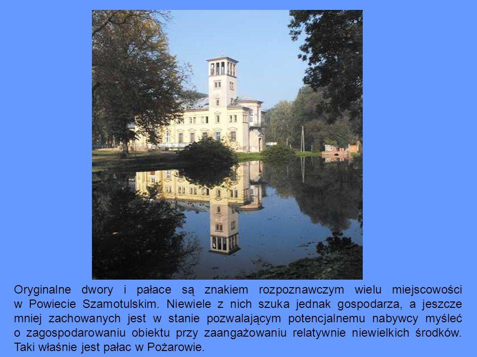 Oryginalne dwory i pałace są znakiem rozpoznawczym wielu miejscowości w Powiecie Szamotulskim.