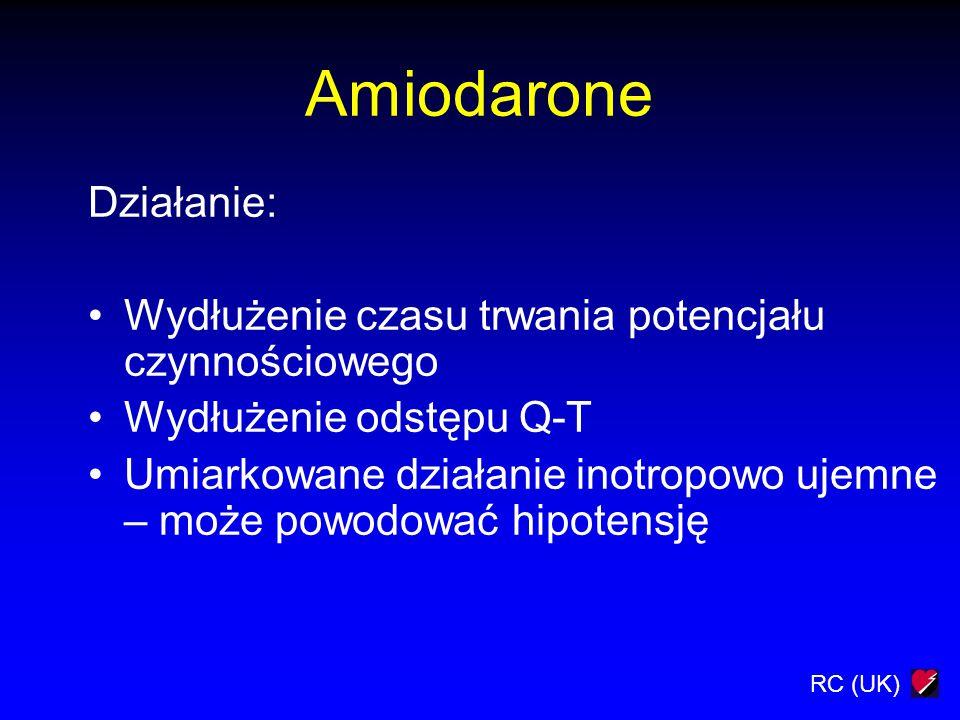 Amiodarone Działanie: