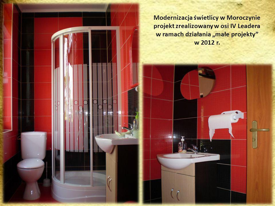 Modernizacja świetlicy w Moroczynie