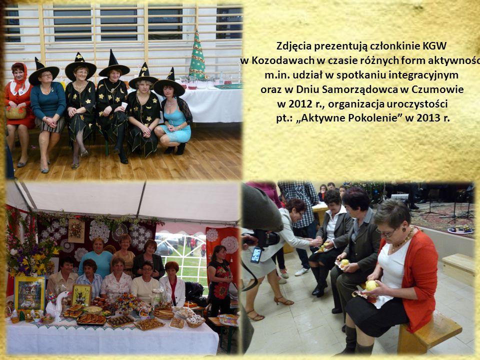 Zdjęcia prezentują członkinie KGW