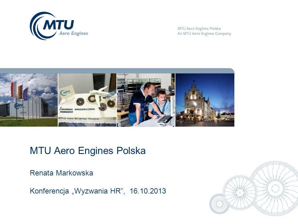 "MTU Aero Engines Polska Renata Markowska Konferencja ""Wyzwania HR , 16"