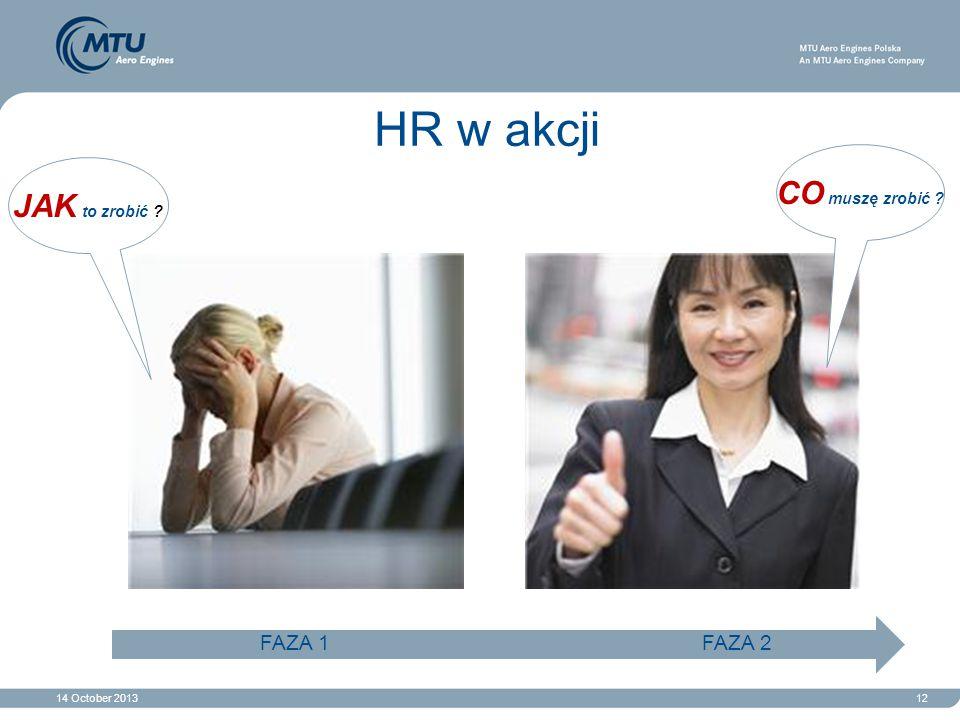 HR w akcji CO muszę zrobić . JAK to zrobić .
