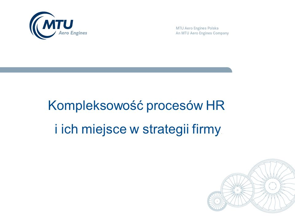 Kompleksowość procesów HR i ich miejsce w strategii firmy.
