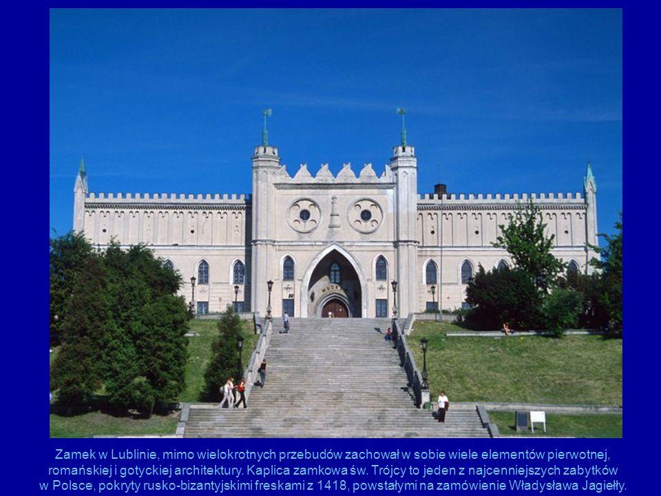 Zamek w Lublinie, mimo wielokrotnych przebudów zachował w sobie wiele elementów pierwotnej, romańskiej i gotyckiej architektury.