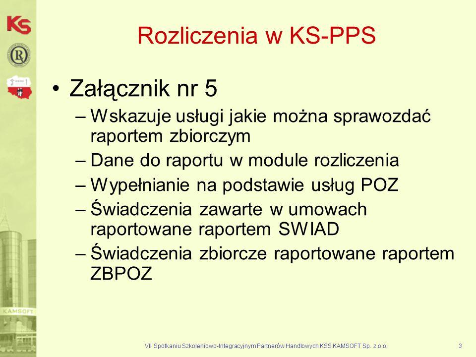 Rozliczenia w KS-PPS Załącznik nr 5