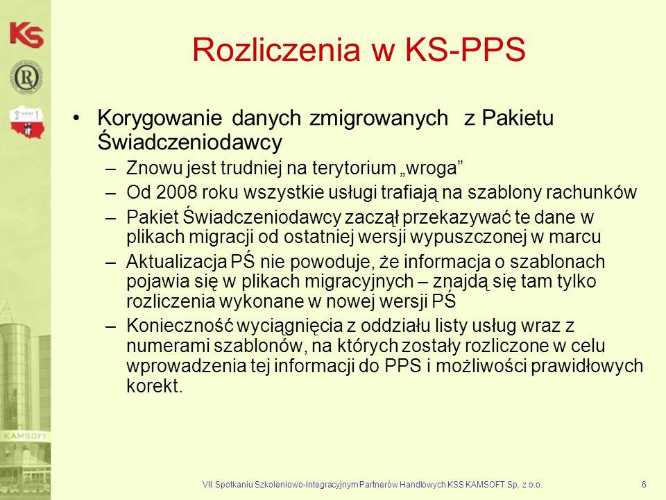 """Rozliczenia w KS-PPS Korygowanie danych zmigrowanych z Pakietu Świadczeniodawcy. Znowu jest trudniej na terytorium """"wroga"""