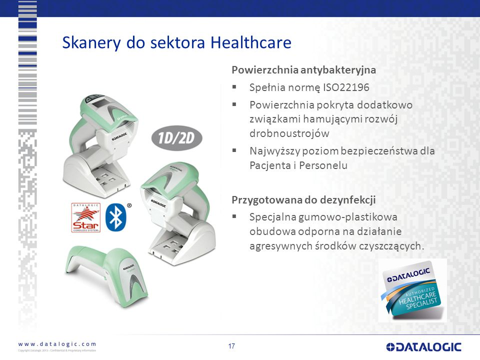 Skanery do sektora Healthcare