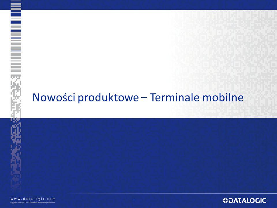 Nowości produktowe – Terminale mobilne