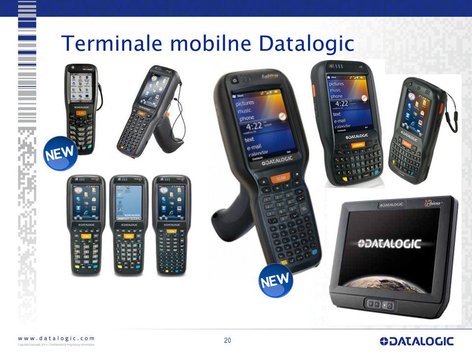 Terminale mobilne Datalogic