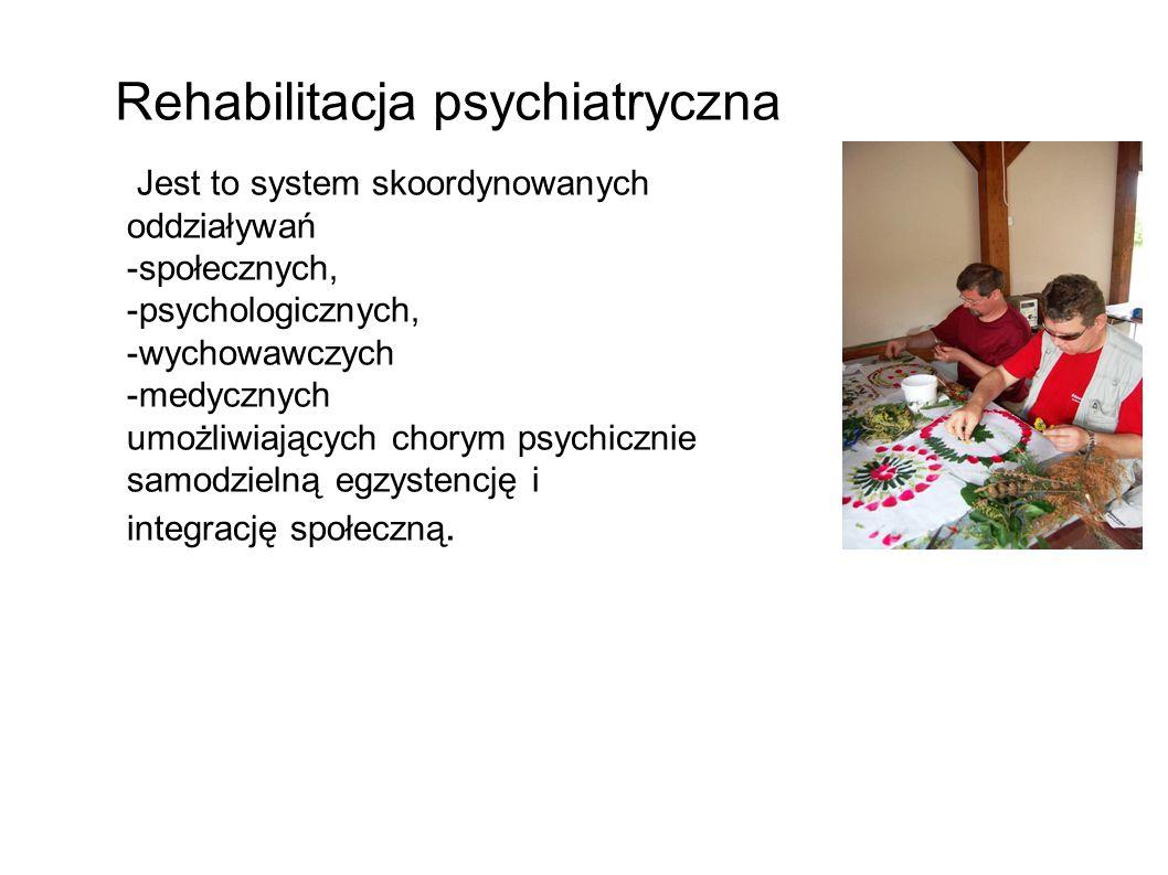Rehabilitacja psychiatryczna