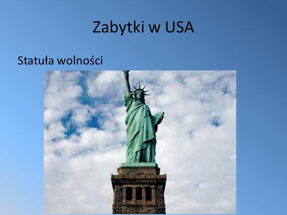 Zabytki w USA Statuła wolności