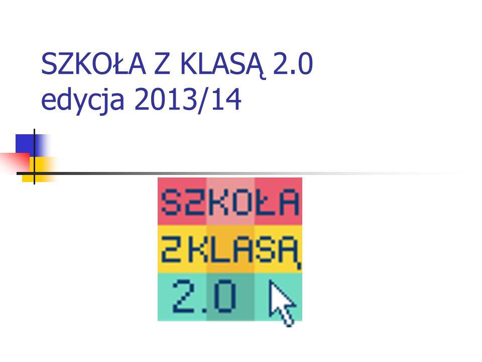 SZKOŁA Z KLASĄ 2.0 edycja 2013/14