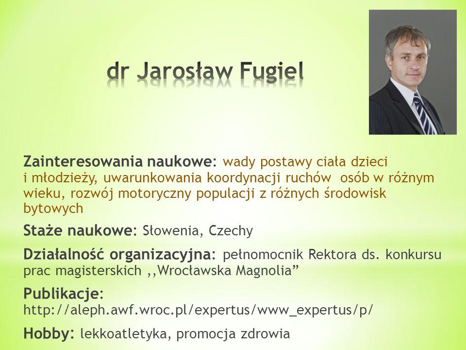 dr Jarosław Fugiel