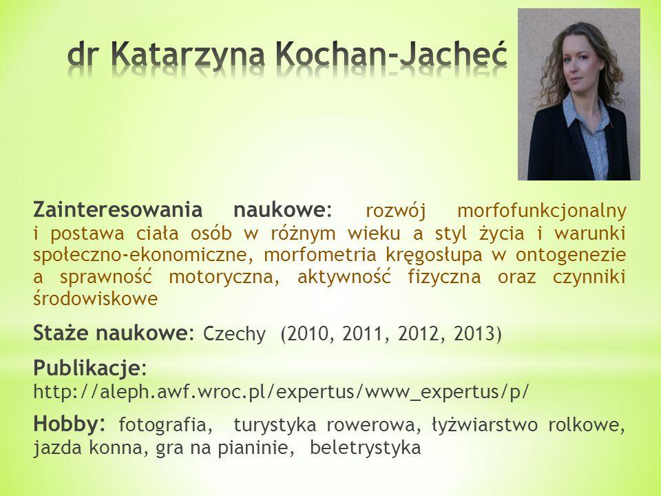 dr Katarzyna Kochan-Jacheć