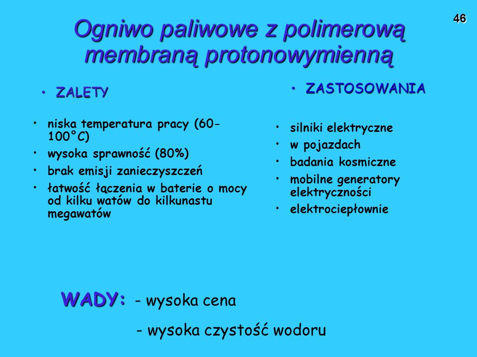 Ogniwo paliwowe z polimerową membraną protonowymienną