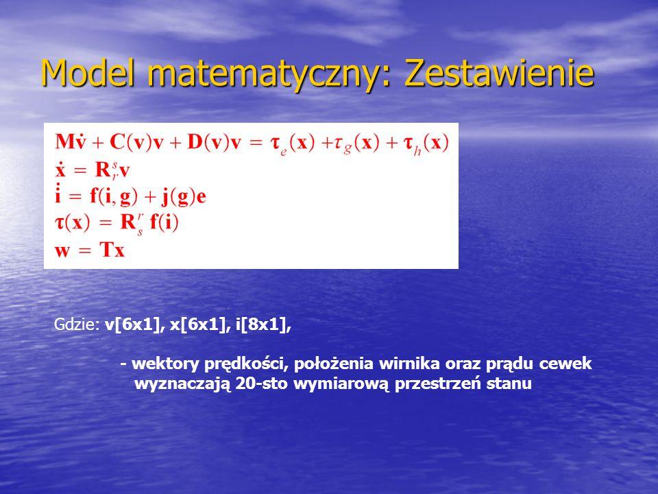Model matematyczny: Zestawienie
