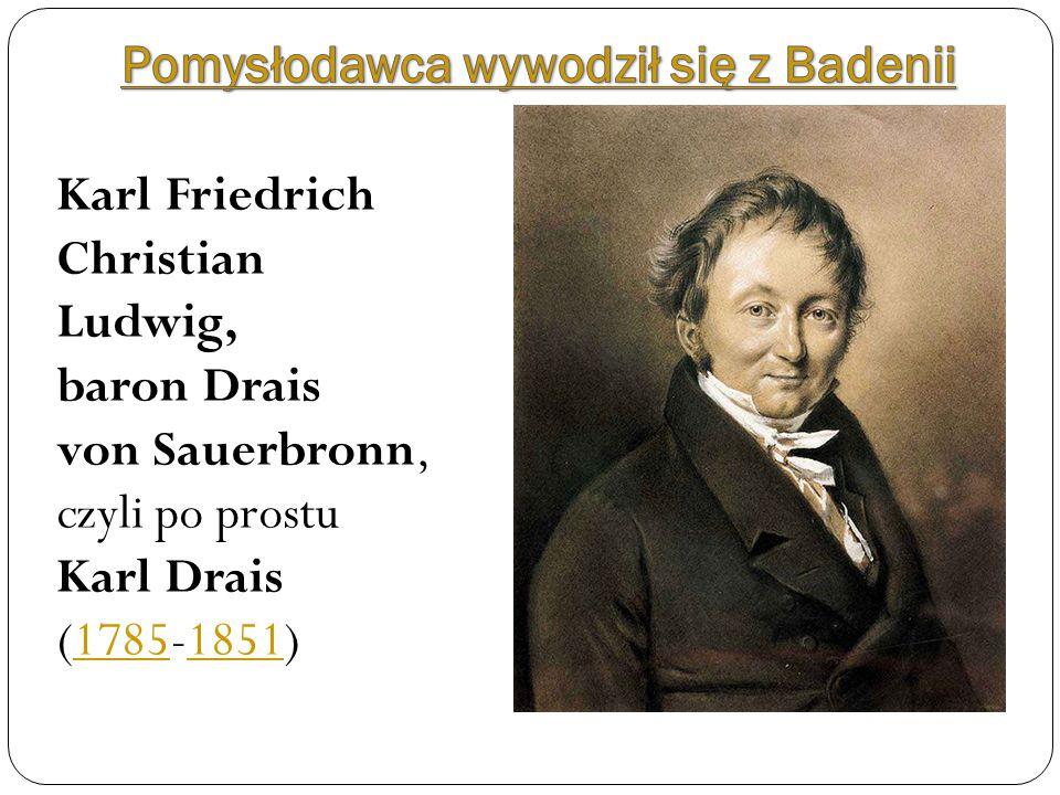 Pomysłodawca wywodził się z Badenii