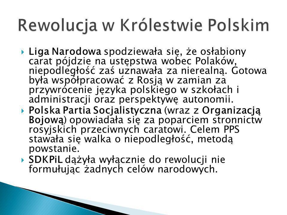 Rewolucja w Królestwie Polskim