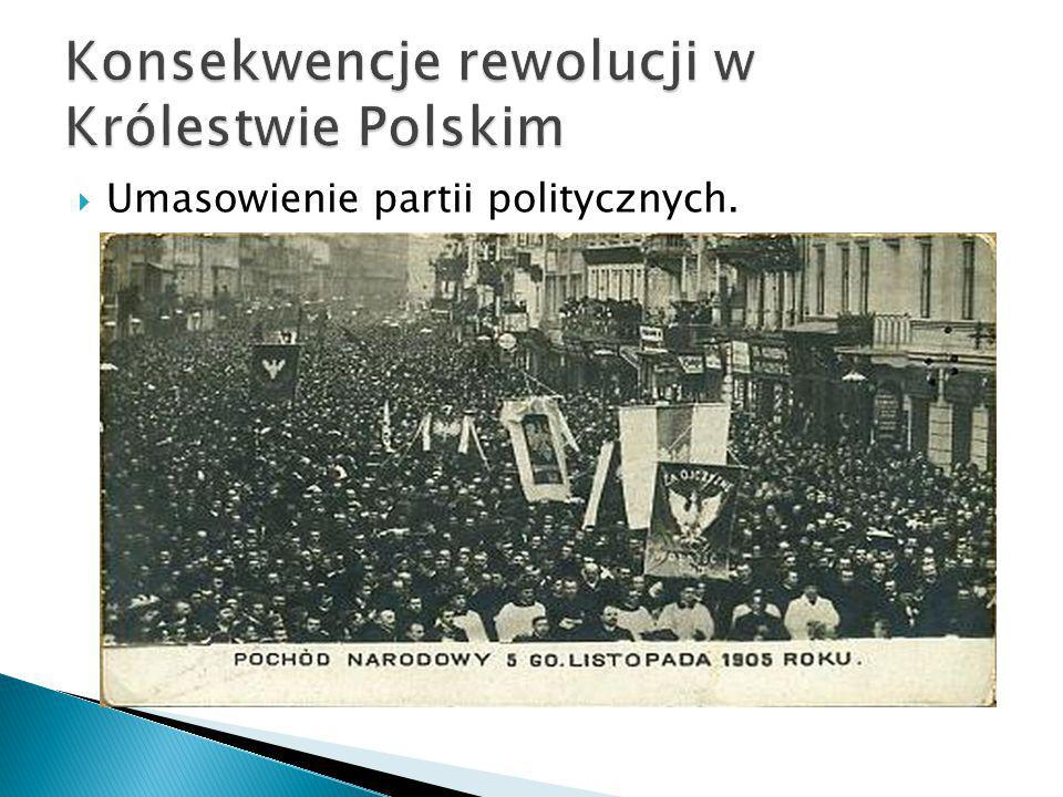 Konsekwencje rewolucji w Królestwie Polskim