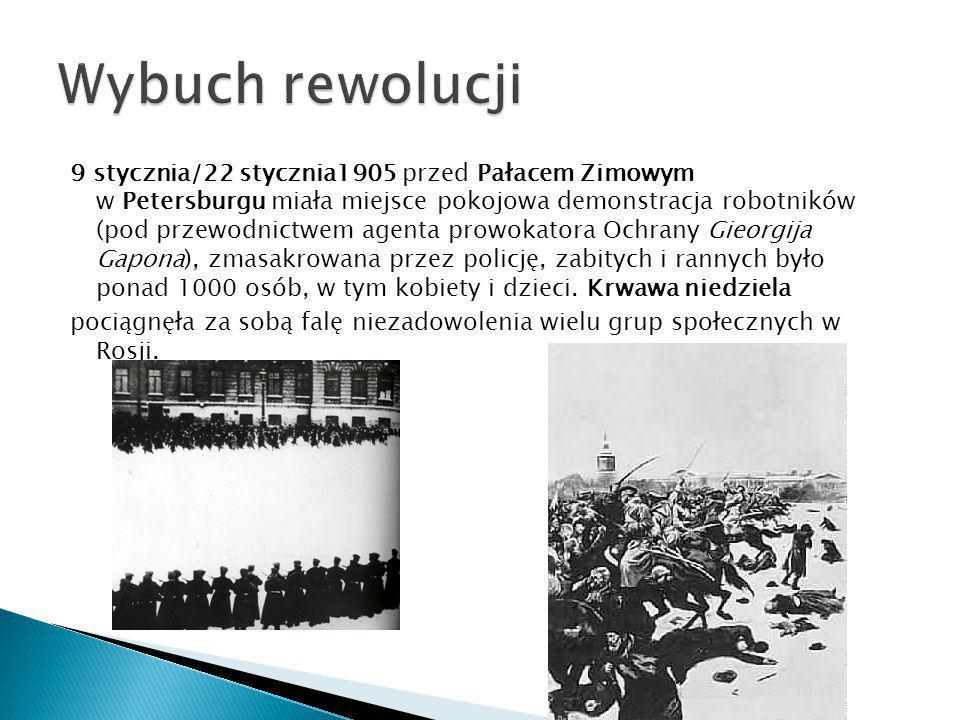 Wybuch rewolucji
