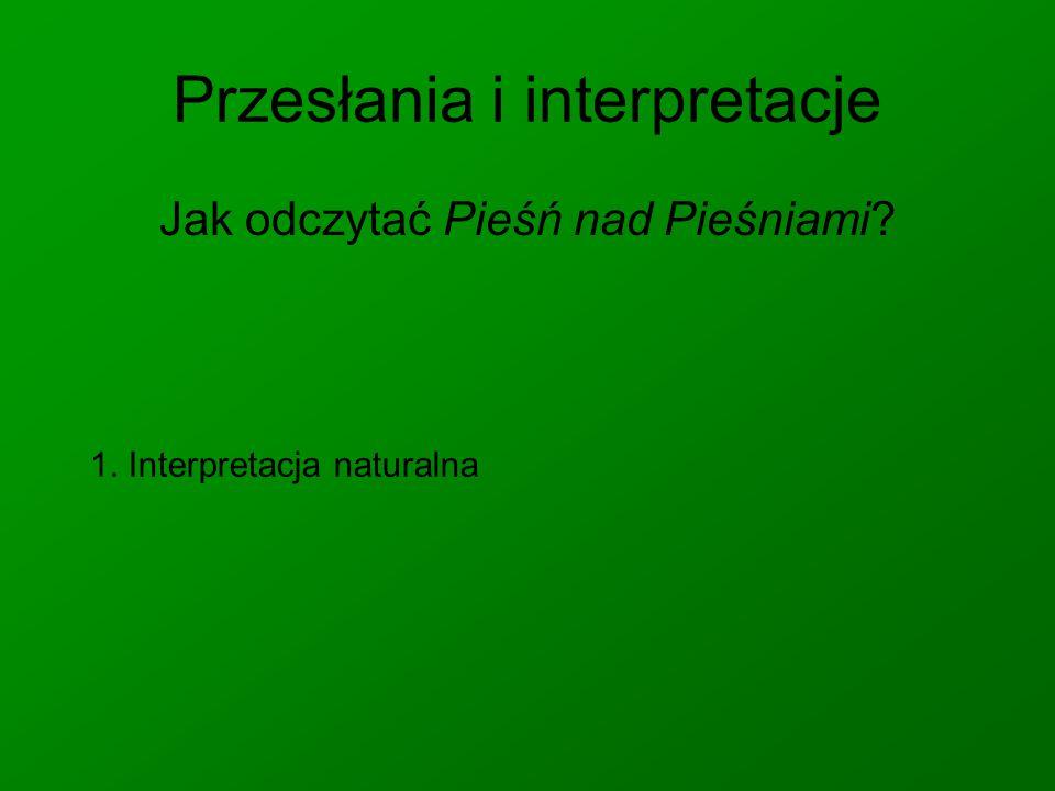 Przesłania i interpretacje
