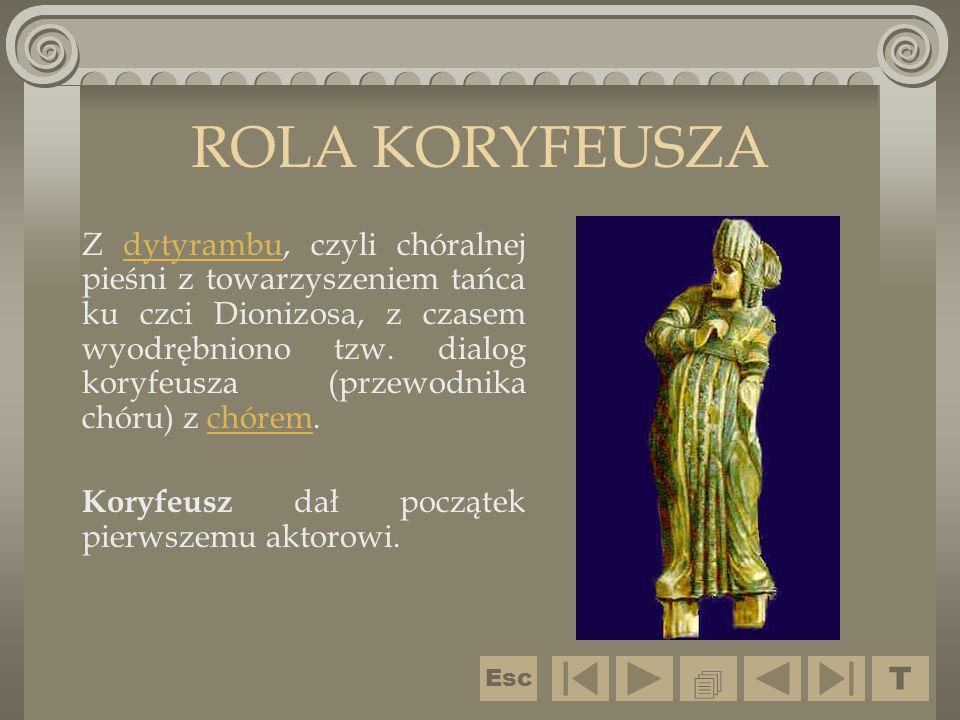ROLA KORYFEUSZA