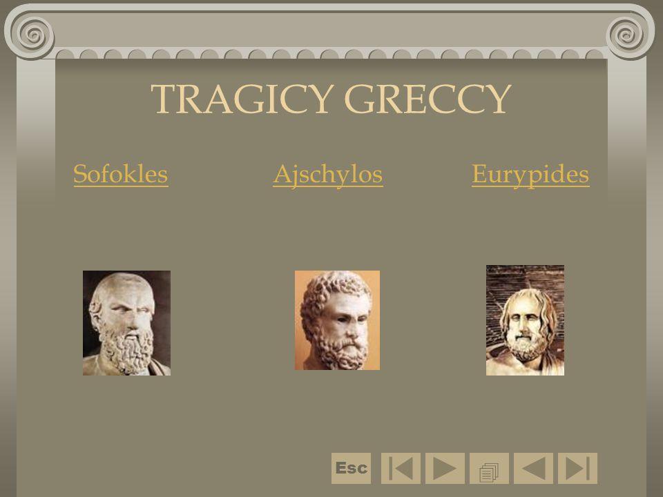 Sofokles Ajschylos Eurypides