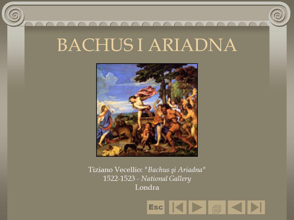 Tiziano Vecellio: Bachus şi Ariadna