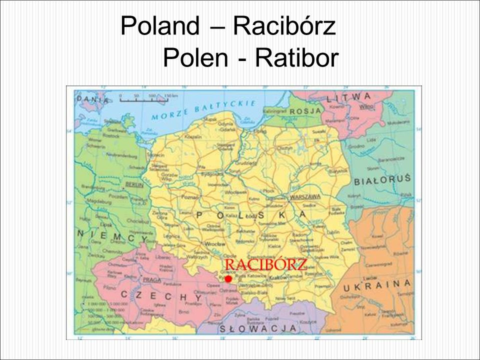 Poland – Racibórz Polen - Ratibor