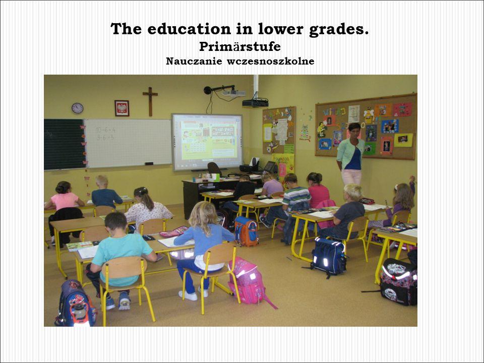 The education in lower grades. Nauczanie wczesnoszkolne